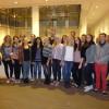 Mit den PreisträgerInnen des Bayerischen Jugendpreises letzte Woche in Brüssel