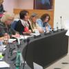 Beim Treffen mit der Europäischen Frauenlobby in Straßburg am 21.10.2014