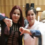 Mit der netzpolitischen Sprecherin der BayernSPD, Doris Aschenbrenner setzten wir am Samstag schon bildlich unser Zeichen.