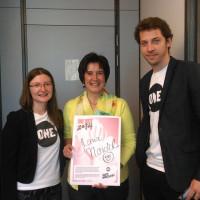 Meine Stimme gegen Armut- mit den JugendbotschafterInnen von ONE VOTE