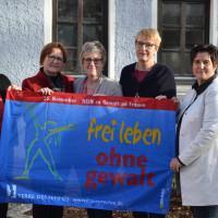 Christa Müller, Gudrun Unverdorben, Elisabeth Jordan, Britta Promann, Maria Noichl
