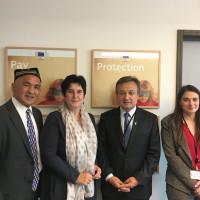 Ende September hatte ich Besuch von bayerischen Uiguren